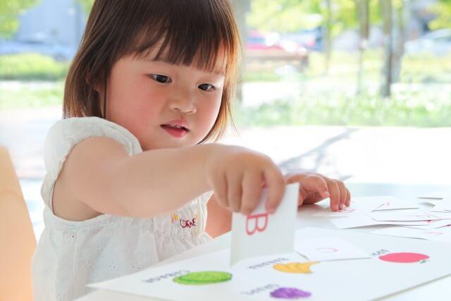 子供 英語カード